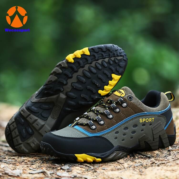custom logo hiking shoes men