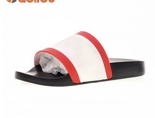 custom logo slide sandal