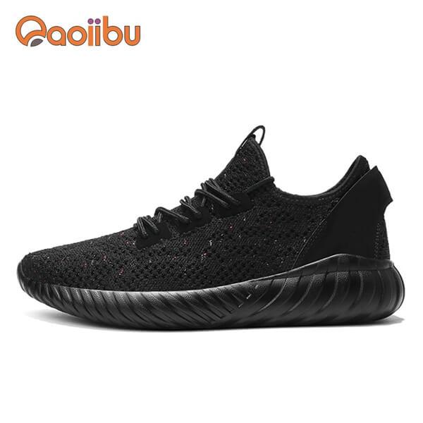 branded shoes black
