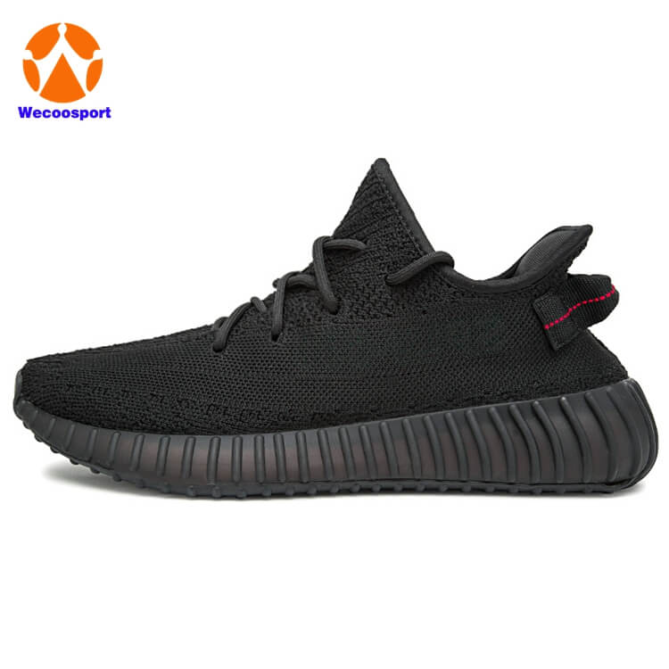 blk yezy 350 shoe