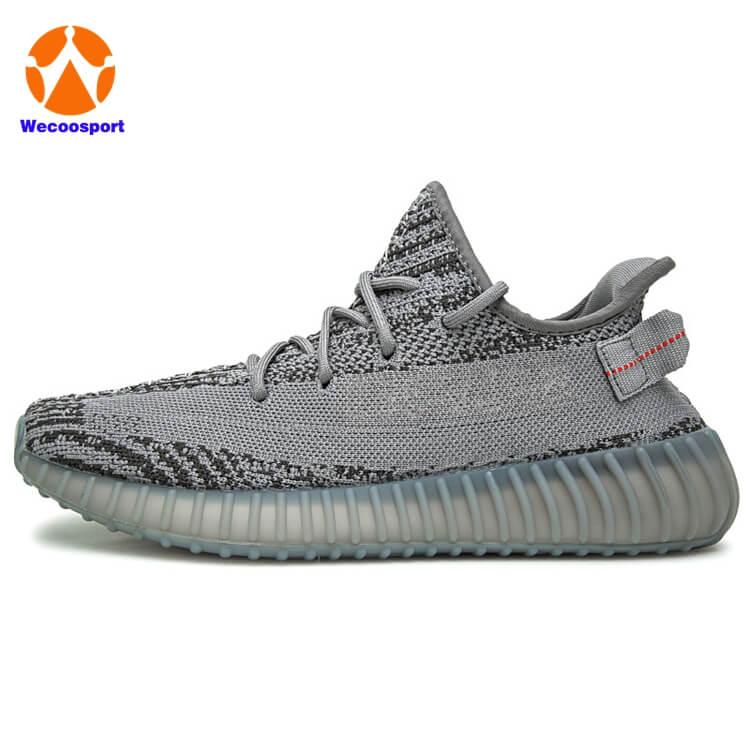 350 grey brand sneakers