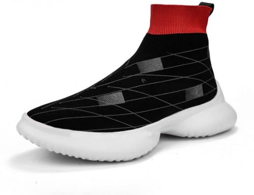sock running shoes