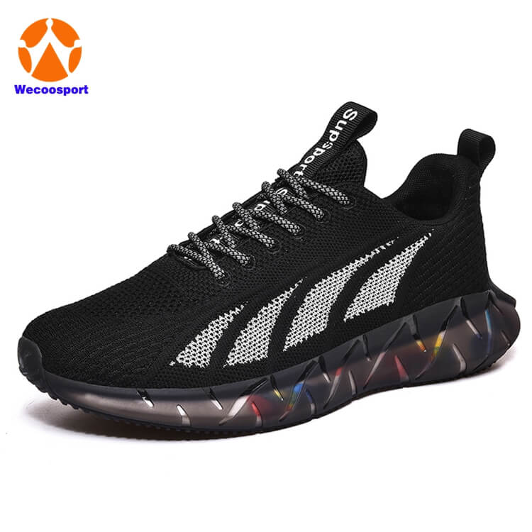 BLK TPU SOLE running shoes