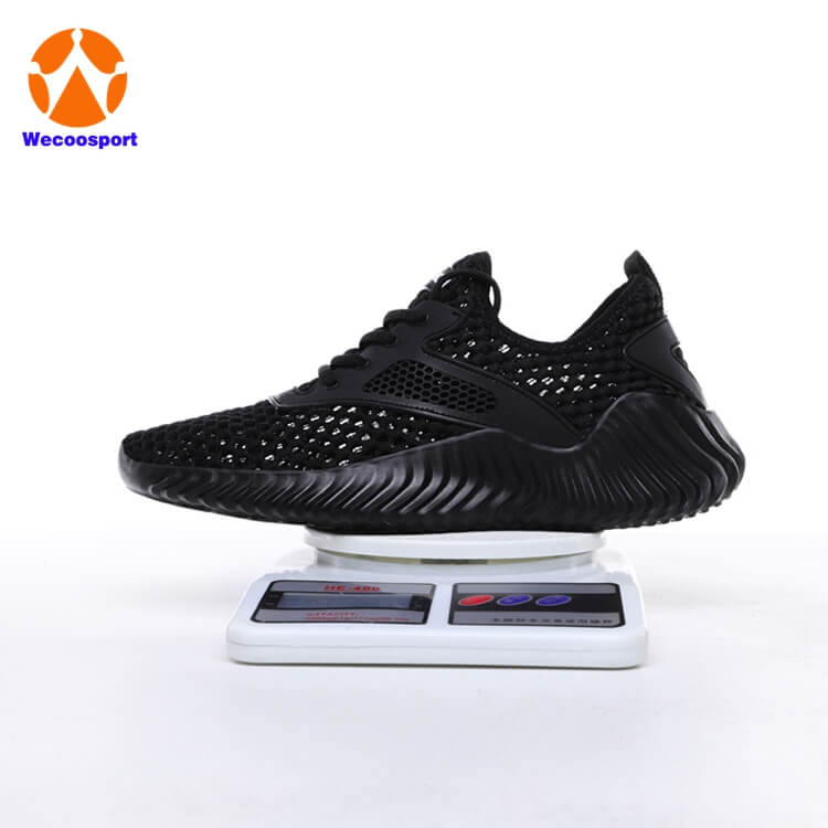 cheap blk mesh mens sport shoes