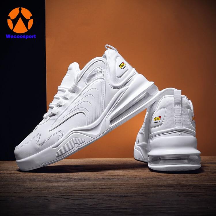 custom white air shoes