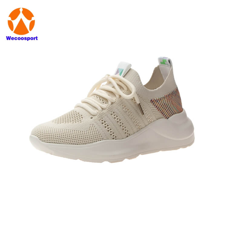 woman sock running shoes