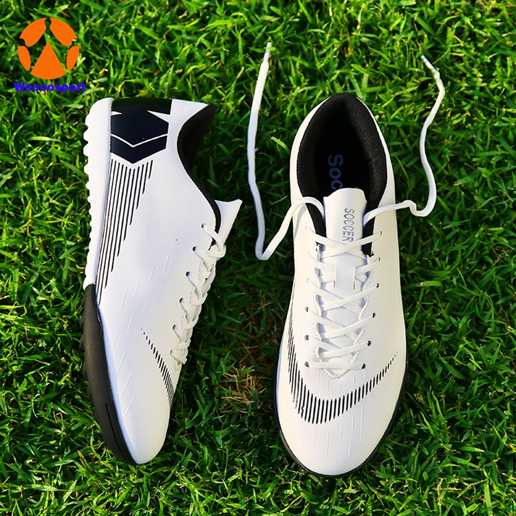 turf soccer shoes white
