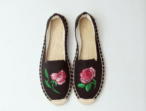 canvas slip on espadrilles