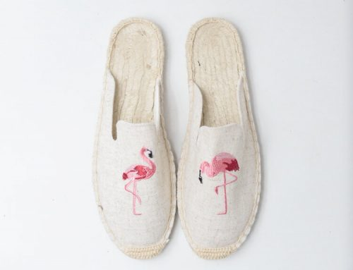 woman canvas espadrilles loafers