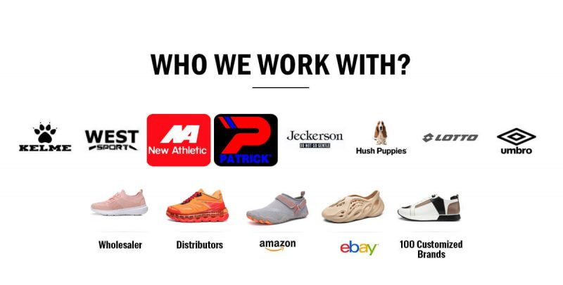 our shoes brand partner